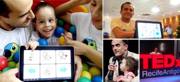 Pai cria software para ajudar filha com paralisia cerebral