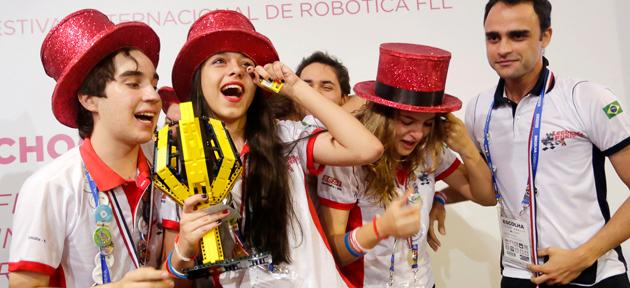 Festa do Lego mostra força da robótica na sala de aula