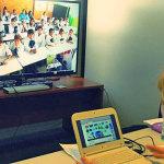 Uma parceria com o Reino Unido permite que 4 mil alunos tenham aula de inglês à distância - Divulgação/Plano Ceibal