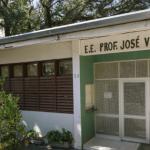 Entrada da Escola Estadual Professor José Vilagelin Neto - Gabo Morales