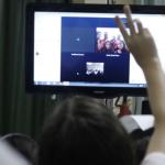 Alunos da EEEF Rio de Janeiro aparecem em videoconferência - Rafaela Martins