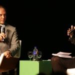 Debate com Paulo Blikstein e Heloísa Neves (We Fab) -  Foto: Luciana Serra