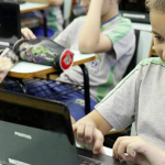 Os netbooks ficam com os alunos até completarem o quinto ano - Vanderlei Faria / Secretaria Municipal de Educação de Cascavel