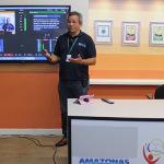 Atualmente, o Centro de Mídias do Amazonas leva a escola aos alunos através de satélites e videoaulas - Divulgação: Seduc/Amazonas