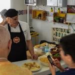 Talal Al-Tinawi mostra a culinária síria
