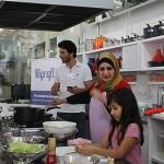 Muna Duarweesh apresenta quitutes sírios
