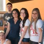 Alunos da E.E. Augusta Peçanha de Moraes na inauguração da minibilioteca Pouso Alegre - Foto: Mirna Nobrega