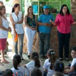 Inauguração de minibiblioteca em Batatuba - Foto: Mirna Nobrega