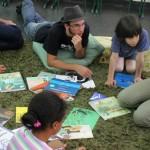 Mediação de leitura em escolas - Foto: Marco Maida / Piracaia na Leitura