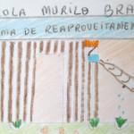 Desenho do projeto que reaproveita água que pinga das centrais de ar condicionado. Crédito: Blog Com-Vida Murilo Braga