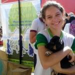 Feira de adoção de animais organizada por alunos. Crédito: Blog Com-Vida Murilo Braga