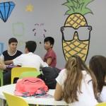 As salas de aula do ensino médio foram decoradas pelos alunos - Crédito: Divulgação