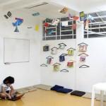 A biblioteca ganhou uma nova decoração - Crédito: Marina Lopes / Porvir