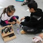 Sem distinção de gênero, meninas e meninos podem brincar do que quiserem - Crédito: Marina Lopes/Porvir