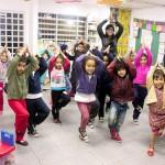Aula de meditação na EMEI Gabriel Prestes Crédito: Laís Semis/ Nova Escola