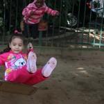 O parque é um dos espaços preferidos - Crédito: Marina Lopes/Porvir